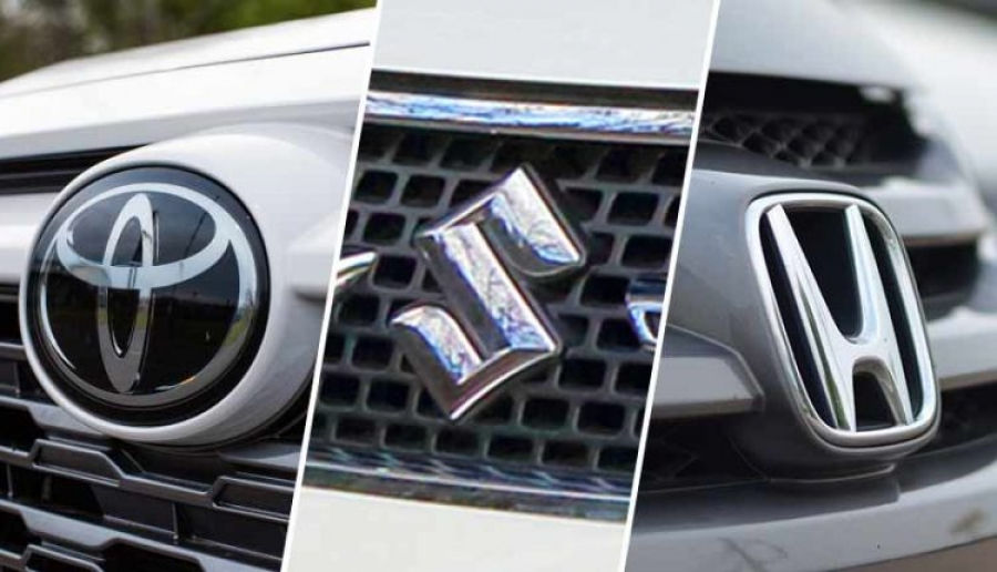 Raid On The Production Plants Of Toyota, Honda, Suzuki by Government