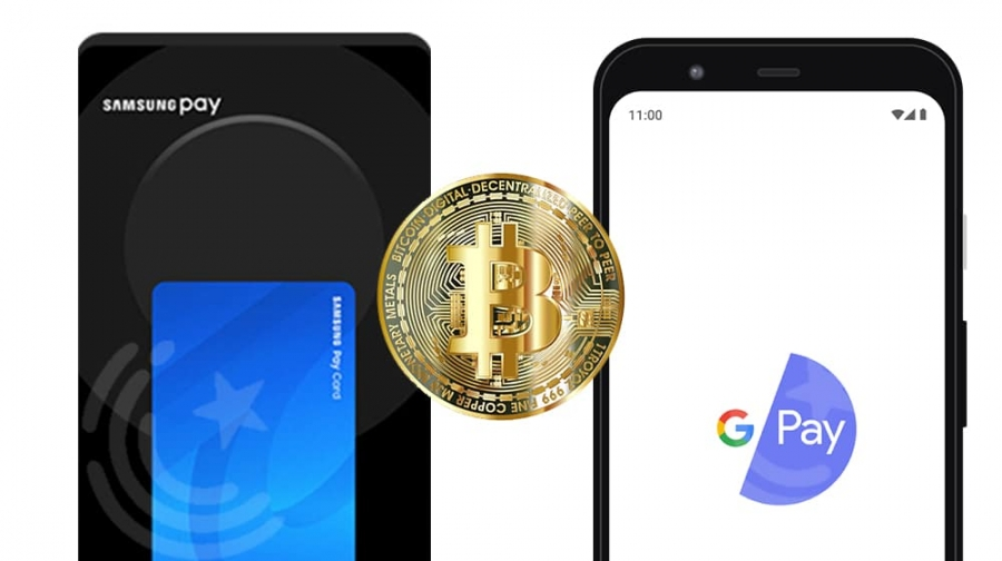 Samsung Pay And Google Pay To Offer Payments in Cryptocurrencies
