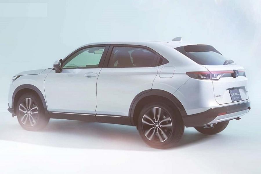 2021 Honda Vezel Unveiled in Japan