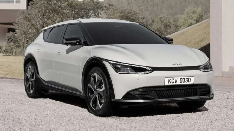 Here's The New KIA EV6 Pictures