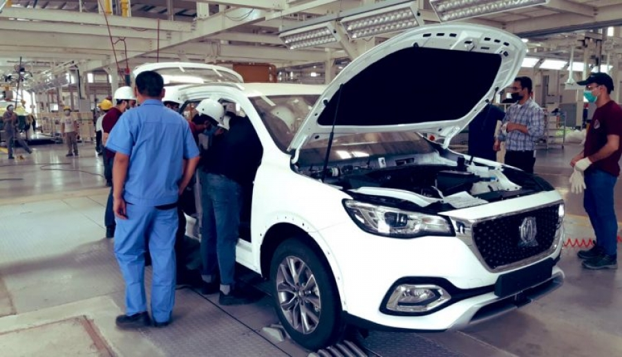 Locally Assembled MG HS is Launched with a Price Hike