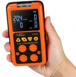 Buy ST8900 SMART SENSOR Multi-gas Detector CO, O2, H2S, LEL in Pakistan