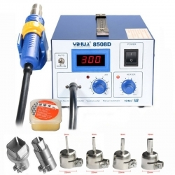 Buy YIHUA 8508D Hot Air Soldering Desoldering Station Digital Display Air Pump in Pakistan