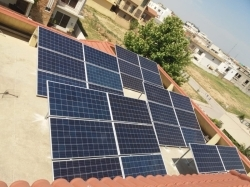 10 KW Solar Panel Install in Lahore