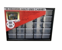 Buy 25 box Cabinet Multi-Case Drawers Cabinet Tool Box in Pakistan