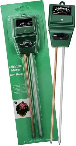 Buy 3 Way Soil pH Meter Moisture Meter & Light Meter in Pakistan