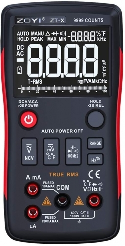 Buy ZOYI ZT-X Digital Multimeter 9999 AC / DC Voltage Current Counts in Pakistan