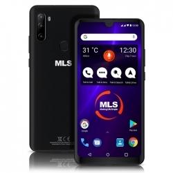 MLS POP 4G Black 4+64GB Memory triple rear camera mobile phone